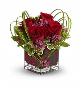 How sweet is this arrangement? Teleflora's Sweet Thoughts Bouquet with Red Roses in St. Joseph MO, Sansone Floral & Gifts