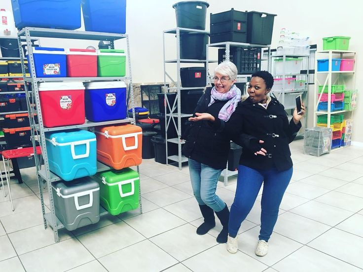 We had the privilege of being taken around the Rand Plastics showrooms, warehouse and factory.