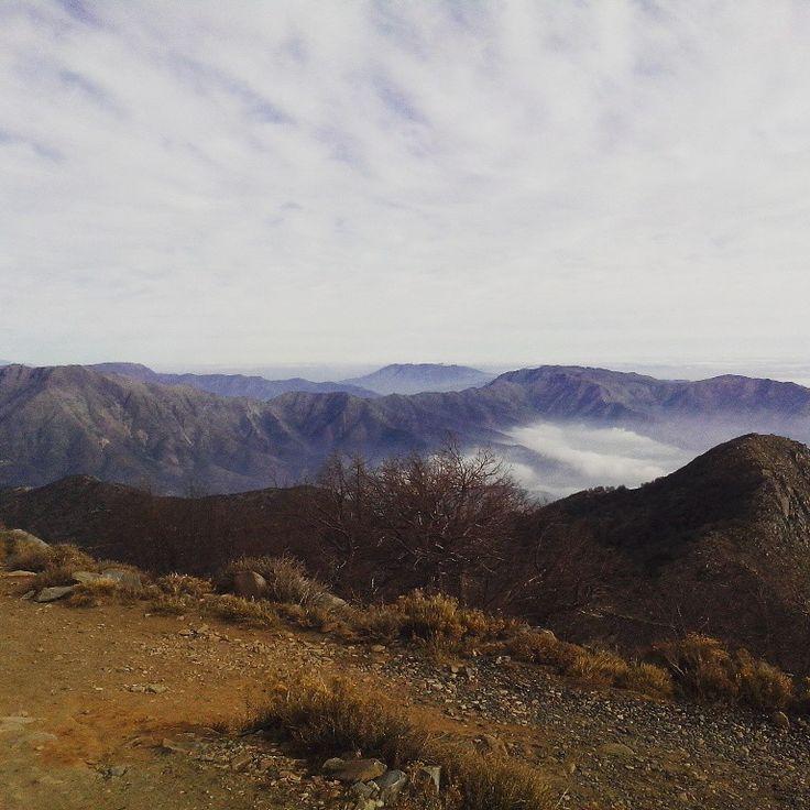 Cerro el Roble Chile.