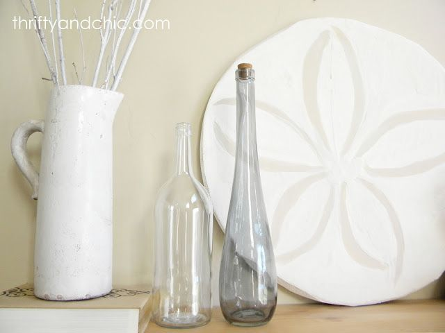 Thrifty and Chic: Pottery Barn Knock-off Oversized Sand Dollar