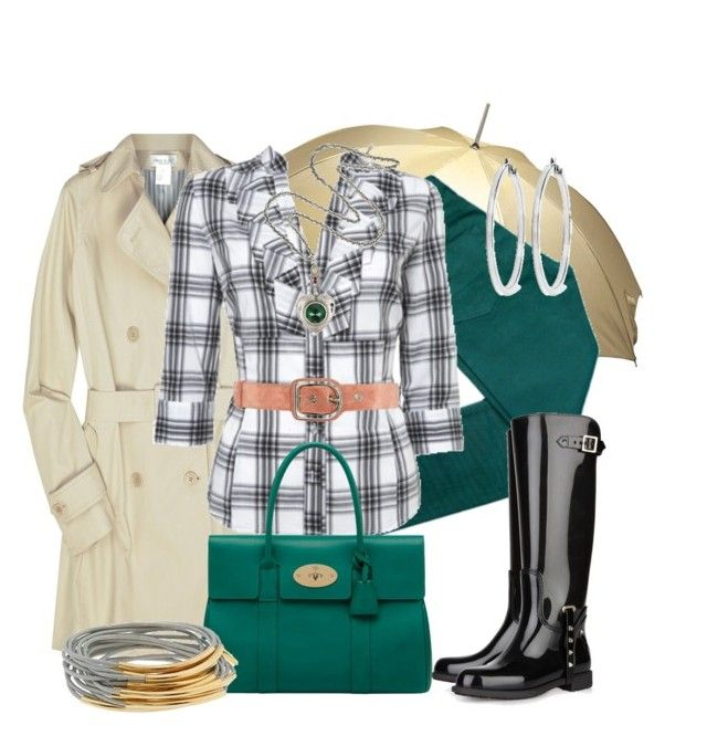 """""""DÍAS DE LLUVIA"""" by outfits-de-moda2 ❤ liked on Polyvore featuring Totes, 10.Deep, Paul & Joe, Debenhams, Valentino, Mulberry, Mawi, GUESS, Accessories & Beyond and Sonia Rykiel"""