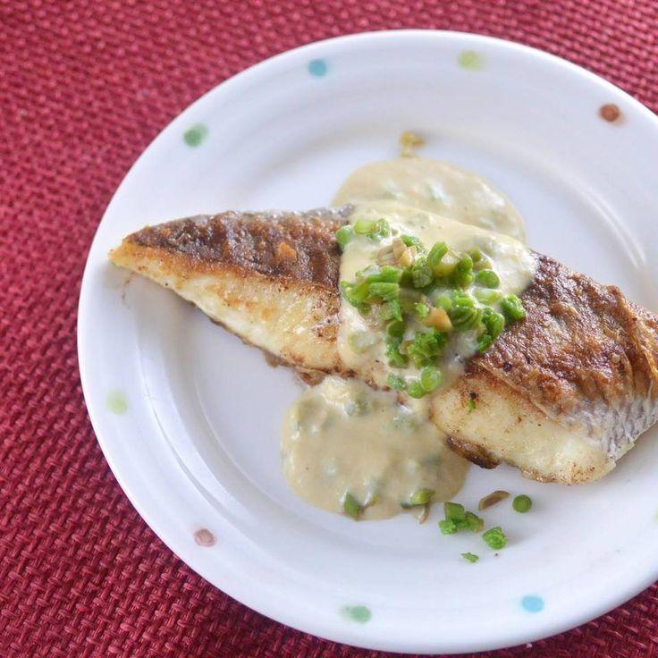 豆乳味噌たらの芽ソース (鯛のムニエル版) by 食の広報 YUICHI | レシピサイト「Nadia | ナディア」プロの料理を無料で検索