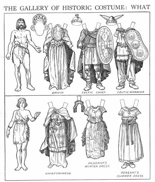 The Gallery of Historic Costume: What the Britons and