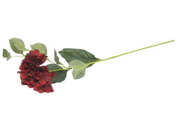 56 best wedding table flowers images on pinterest wedding tables botanic artistry deep red hydrangea mightylinksfo