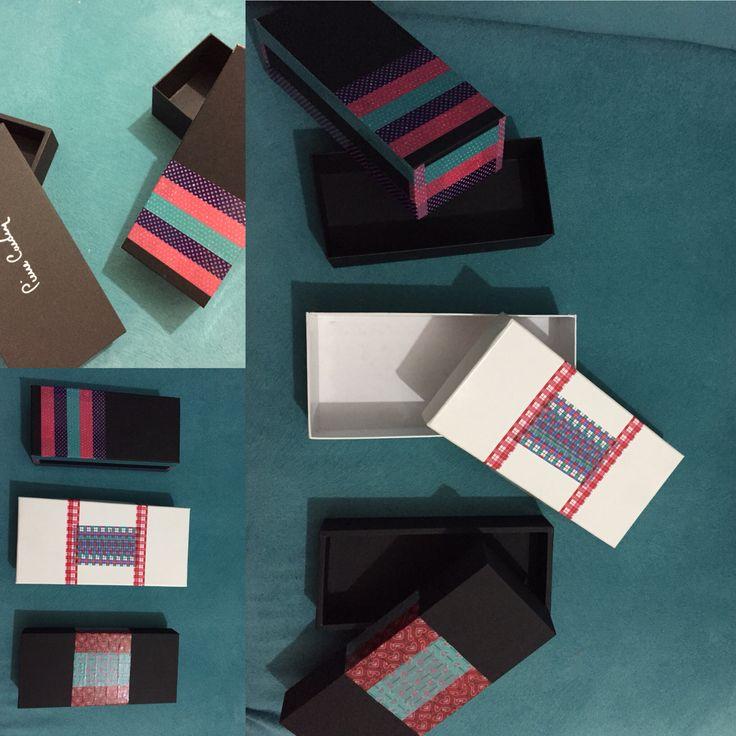 Kullanılmayan kutuları renkli bantlarla kullanılır hale getirmece..