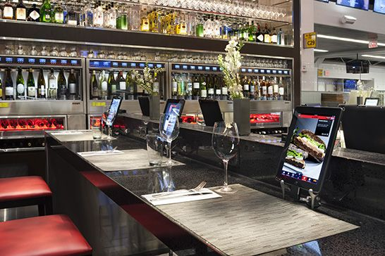 WiBar, La Guardia NY, US WineEmotion Wine Dispenser