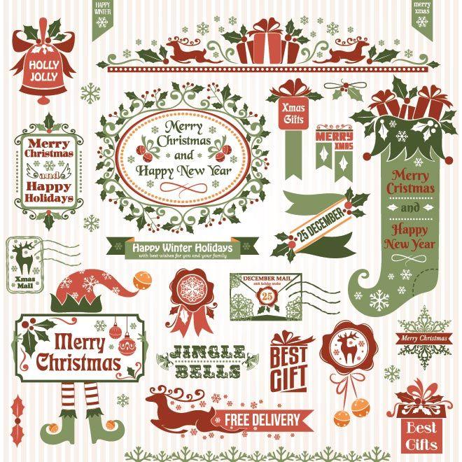 25+ best Vector christmas ideas on Pinterest | Merry christmas ...