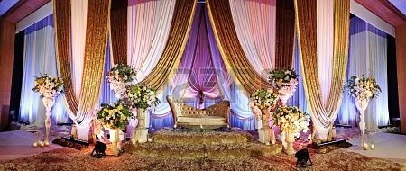 Malay Wedding Altar Panoramic - malay wedding pelamin