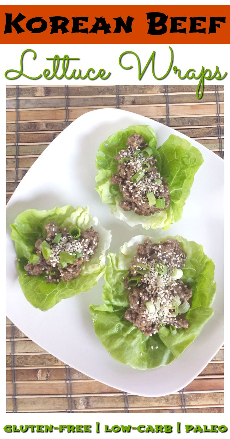 These Korean Beef Lettuce Wraps are quick and easy to make yet healthy and bursting with flavor! Honey instead of sugar makes the sauce flavorful without all of the sugar that is commonly found in Korean BBQ. Grain-free, gluten-free, dairy-free, nut-free, nightshade-free, low-carb and Paleo.