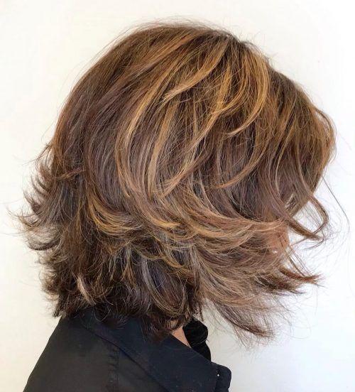 22 Perfect Medium Length Hairstyles For Thin Hair In 2020 Medium Length Hair Styles Haircuts For Medium Length Hair Medium Length Hair With Layers