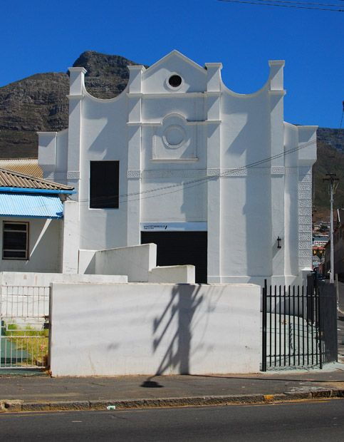 An art gallery in Capetown, South Africa.