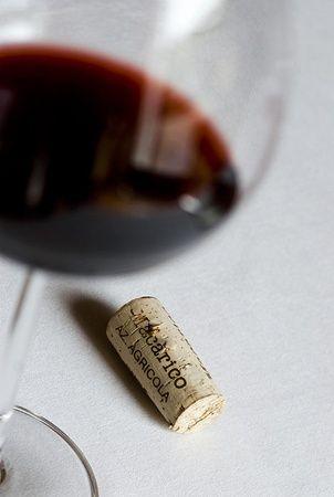 Italy - Basilicata  Glass of Aglianico del Vulture wine