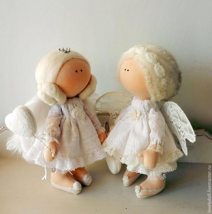 Купить Ангелочек - белый, молочный, ангел, ангел-хранитель, фея, красивый подарок