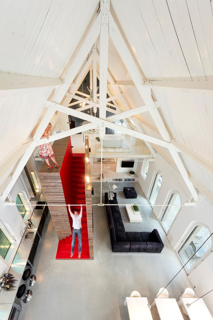 Perfect Leijh, Kappelhof, Seckel, Van Den Dobbelsteen Architects Transformed A  Historical Dutch Church Into A Unique Loft Living Space In Haarlo, The  Netherlands. Pictures