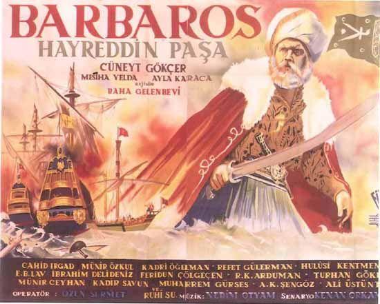 Türk Nostalji - Fotogaleri - Barbaros Hayreddin Paşa (1951) filminin afişi