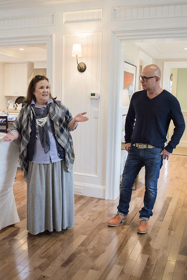 The walls and the casements... Jack Thomsson and Designer Linda Woodrum in the 2015 HGTV dream home - Cuckoo4Design