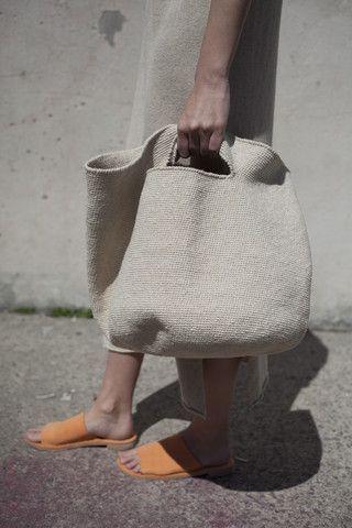 Lauren tazón de ganchillo Manoogian bolsa - tienda de oroboro
