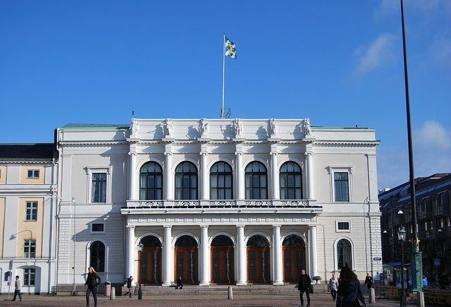 Das Göteborger Rathaus – #Stadt #Göteborg #Halle