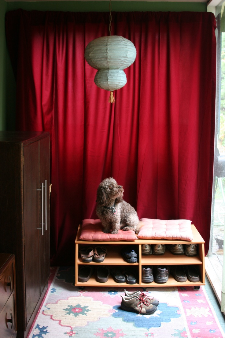 Velvet curtain club - Red Velvet Curtains Making Small Spaces Into Big Decorative Displays