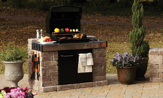 Pavestone Rumblestone Bbq Enclosure Imagine Stack