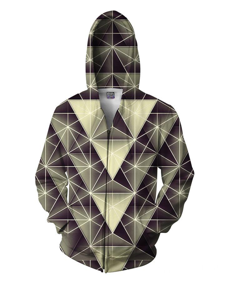 Isometry Zip-Up Hoodie