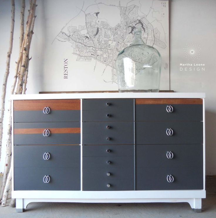 50 Best Images About Painted Mid Century Furniture Ideas On Pinterest