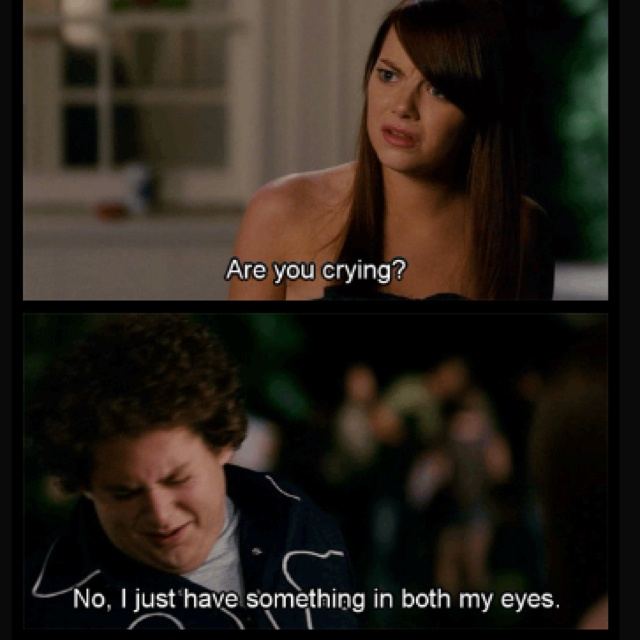 Are You Crying Movie Quotes Superbad Movie Movie Quotes Best