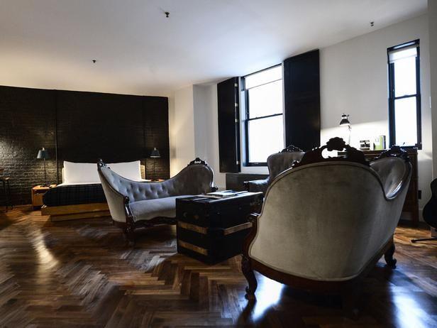 Timeless masculine interior design home decor for Ace hotel decor