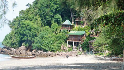 Bungalows sur pilotis en front de mer (Thaïlande) #blog #voyage #conseils #Thailande www.planete3w.fr