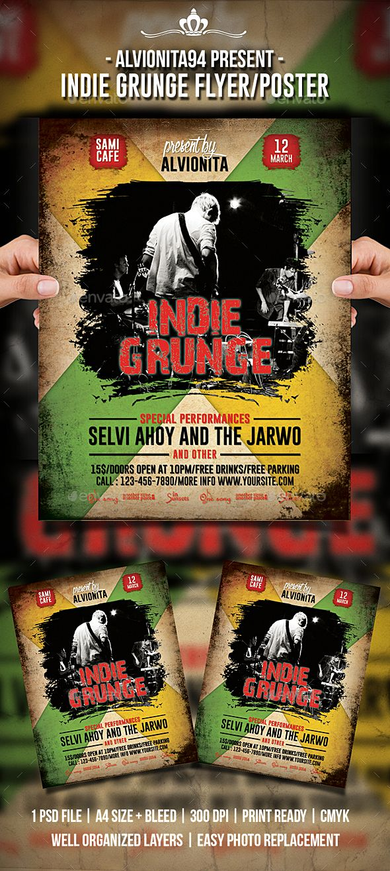 Indie Grunge Flyer / Poster