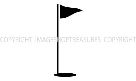 Golf Club Flag Ball Hole Golfer Golfing Sports Course Green Etsy Photoshop Backgrounds Digital Clip Art Golf