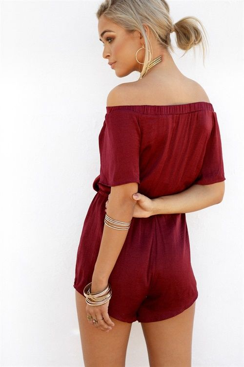 Buy Mackenzie Slip Playsuit Online - Playsuits - Women's Clothing & Fashion - SABO SKIRT