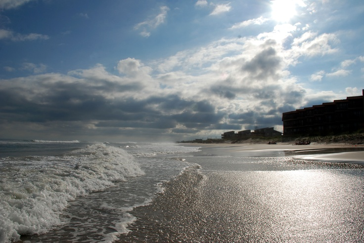The condo from the beach in North Topsail, NC