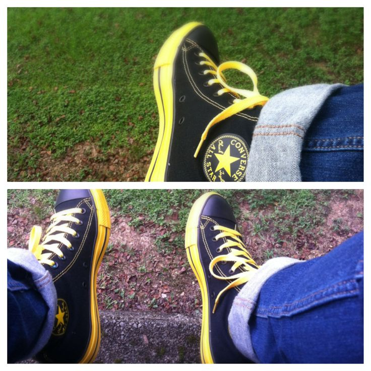 Black and yellow converse go steelers converse pinterest converse yellow converse and for Pittsburgh steelers bedroom slippers