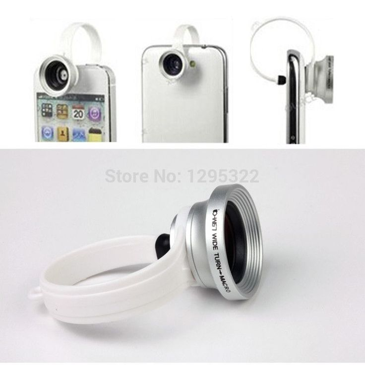 2 in 1 Universal Clip-On 0.67X Wide Angle + 180 Degree Macro Mobile Phone Lens For iPhone 4 5 Samsung Galaxy S4 S5 HTC GU30W