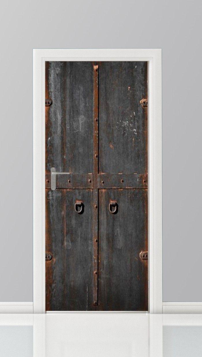 Deursticker Metalen deur - 5994706