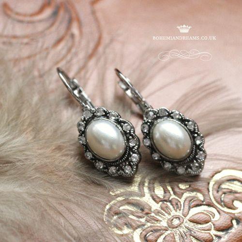 victorian earrings www.bohemiandreams.co.uk