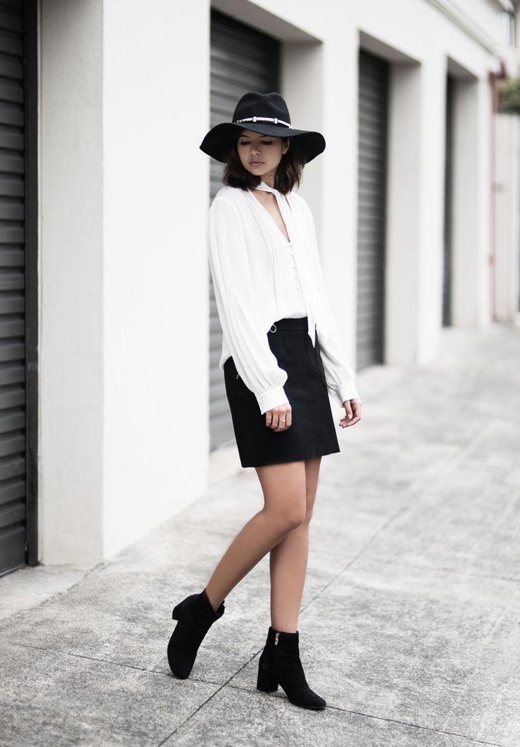 5 Looks Con Fedora Para Principios Del Otoño | Cut & Paste – Blog de Moda