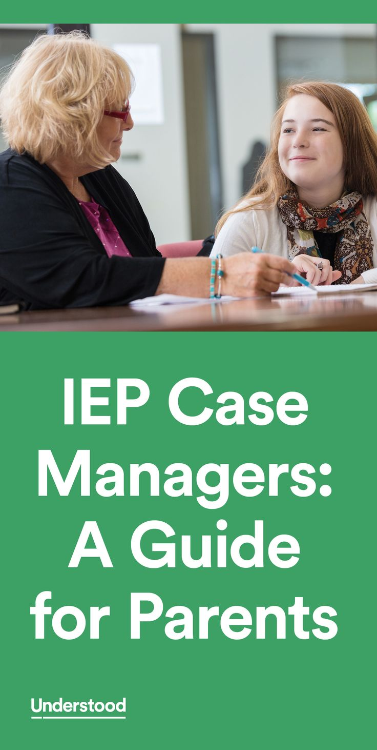 If your child has an IEP or is in the process of getting one, you'll see a case manager's name listed on the paperwork you receive. You may wonder: What are case managers and what do they do? Here's what you need to know about IEP case managers.