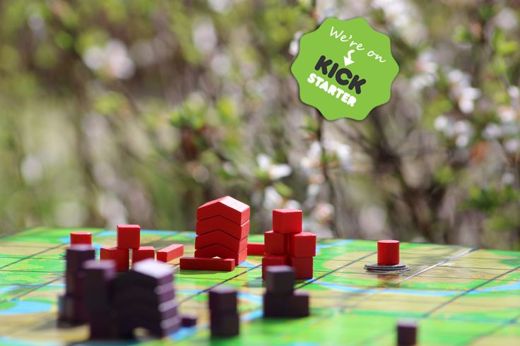 Kommands Board Game - Enjoying gaming while out in the garden. Play outside!   #boardgame #game #garden #gaming #tabletop #gamenight #familyfun #familygames