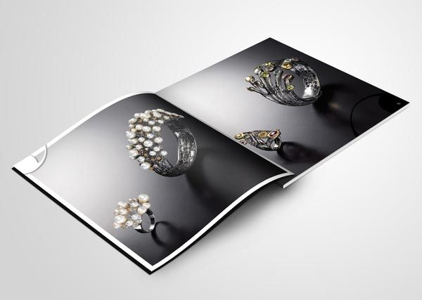 Best Jewelry Brochures Images On   Brochure Design