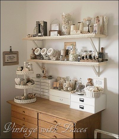 chest of drawers.  needlework, needlecraft, craft room, studio, workroom, space, atelier, sewing, knitting, crochet, embroidery, stitching, quilting