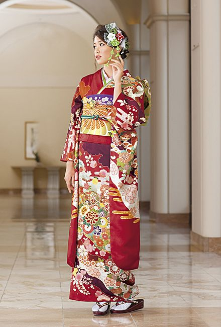 NO.033 正絹 京友禅|成人式の振袖販売、振袖レンタルの京都きもの友禅