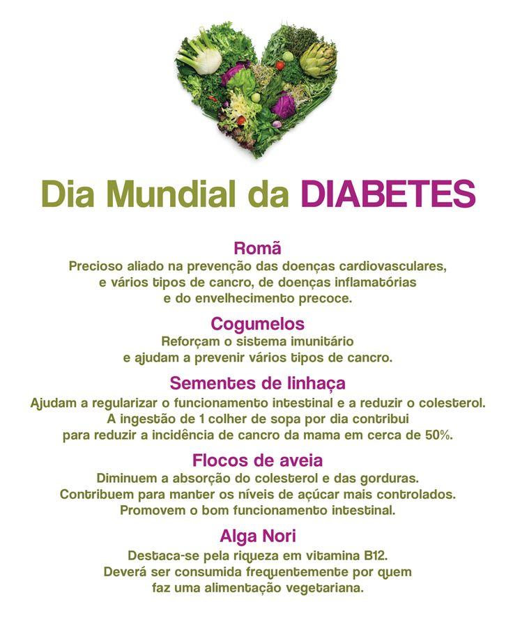 Dia Mundial Da Diabetes | Alimentos para combater a Diabetes