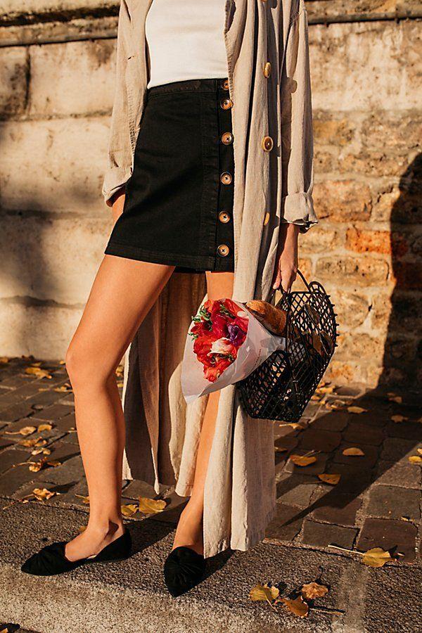 Little Daisies Mini Skirt | Free People