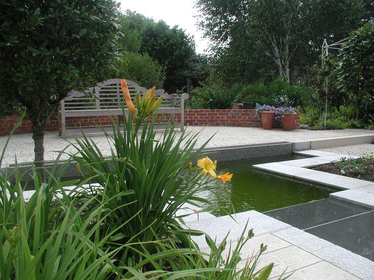 Die besten 25+ Gartenteichbecken Ideen auf Pinterest Wasserlauf - edelstahl teichbecken rechteckig