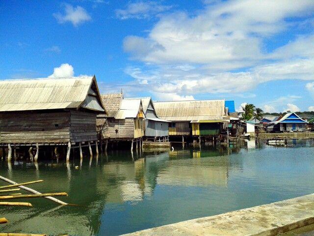 Dusun padang, a fisherman village. Selayar island. Indonesia