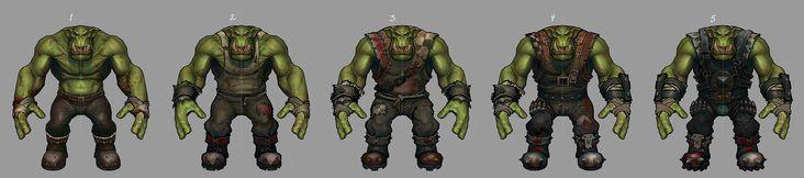 ArtStation - Warhammer 40,000 ORKS, Ted Beargeon