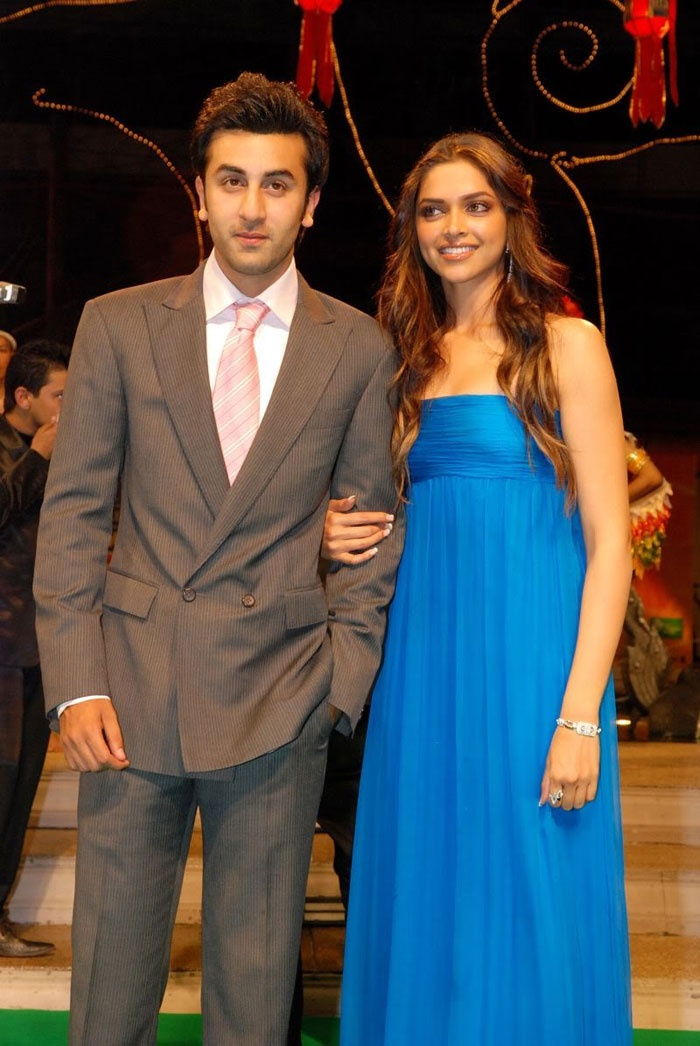 In March 2008, Ranbir confessed that he was dating his Bachna Ae Haseeno co-star, Deepika Padukone.    Many believed it was a match made in heaven and even predicted a walk down the aisle. But, sadly, it wasn't meant to be. The relationship ended with Deepika accusing Ranbir of infidelity and told the watching world on the infamous Koffee With Karan episode that she'd like to gift her now ex-boyfriend a pack of condoms.