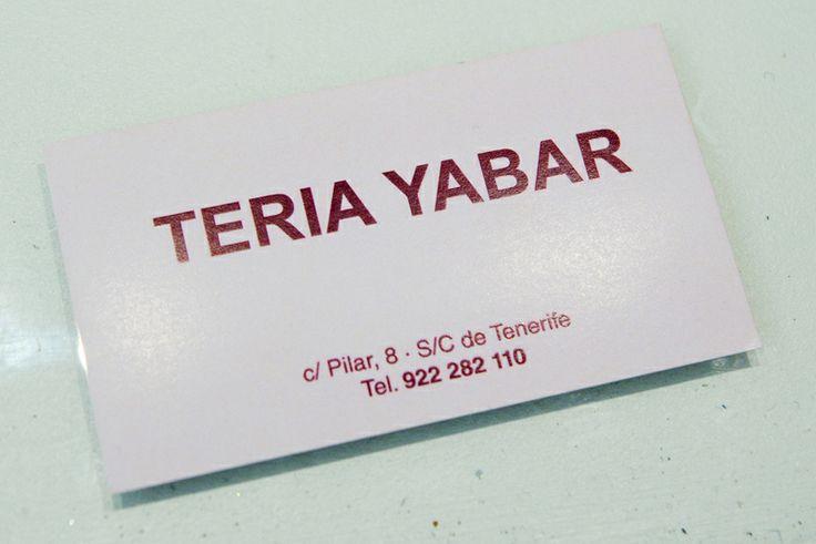 TERIA YABAR TENERIFE